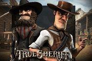 Играть в игровой автомат True Sheriff от gaminatorslots com картинка логотип